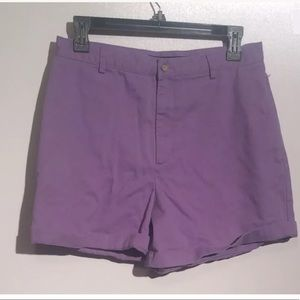 Ralph Lauren Women Shorts Purple Size 8